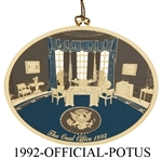 1992 White House Ornament