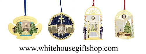 White House Ornaments Collection, 1995- 1998