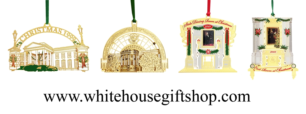 1999 to 2002 White House Ornaments · Larger Photo Email A Friend - White House Ornaments Collection, 1999- 2002, #9-12 In Series, THE