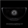 Gold Seal of the President Crystal Glass White House Dining Room Bowl from the Official White House and Historical Gift Shop-presidential glassware