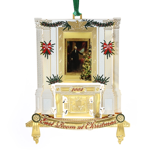 2002 White House Ornament