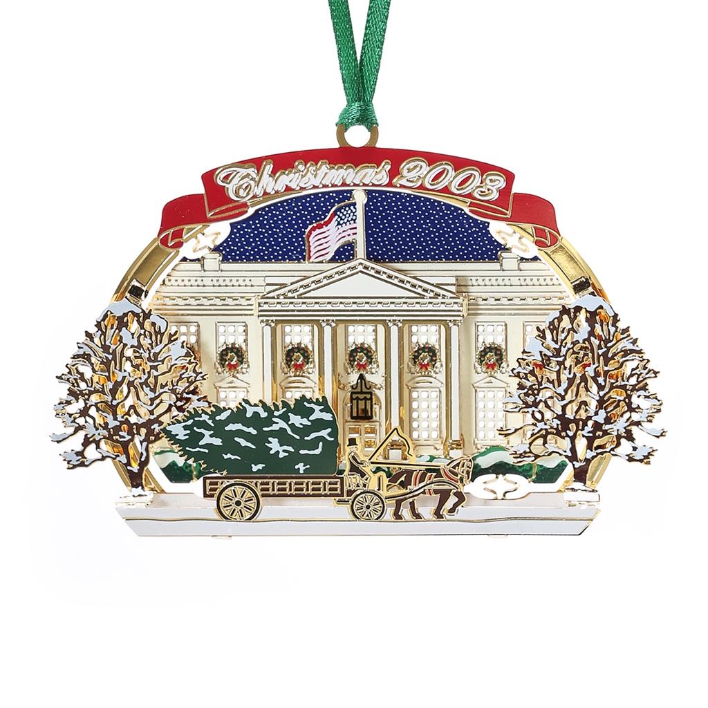 2003 White House Holidays Ornament, National Christmas Tree
