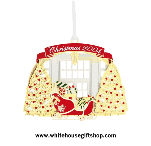2004 White House Ornament