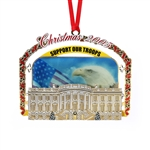2005 White House Ornament Support Our Troops