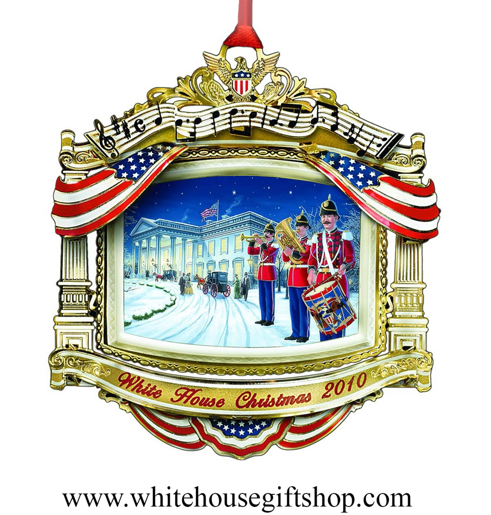 2010 White House Historical Ornament William Mckinley