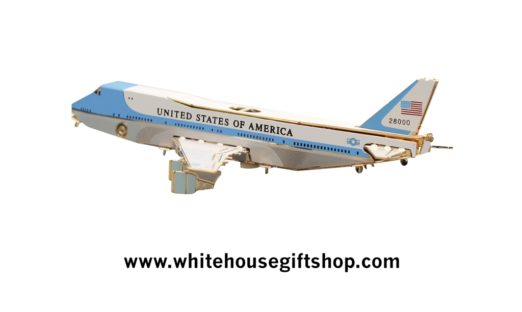 White House Ornament Air Force One 3d