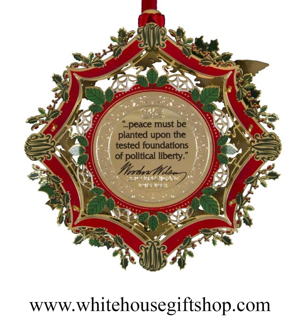 regular - White House Christmas Ornament