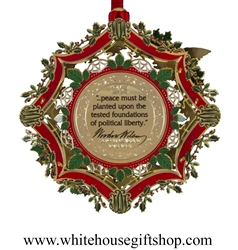 2013 White House Historical Christmas Ornament, American ...