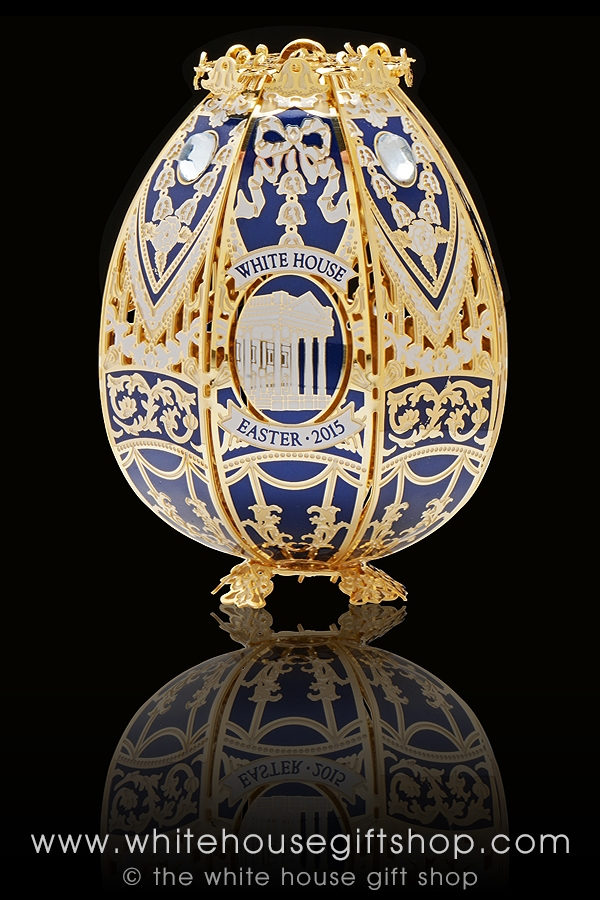 The 2015 white house heirloom easter egg is handcrafted in the usa larger photo email a friend negle Images