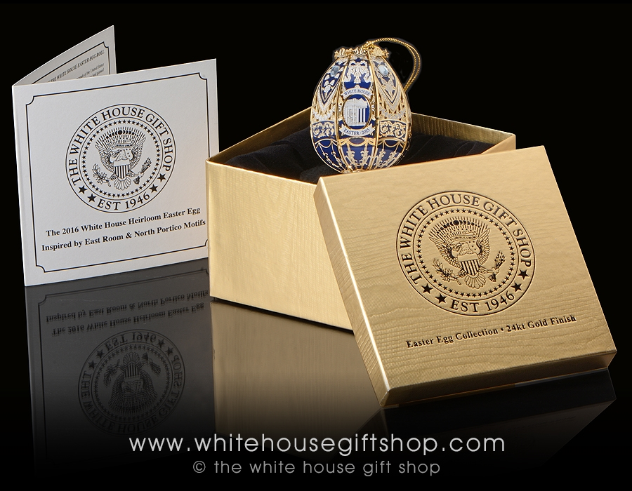 The 2015 white house heirloom easter egg is handcrafted in the usa regular negle Images