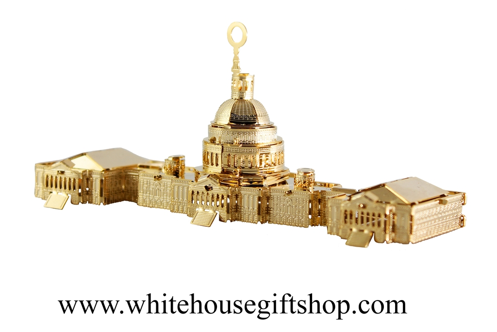 Collectible Christmas Ornaments the united states capitol building ornament and model is a perfect
