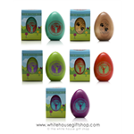 2015 White House Wood Easter Egg, Signed by President Obama and Michelle