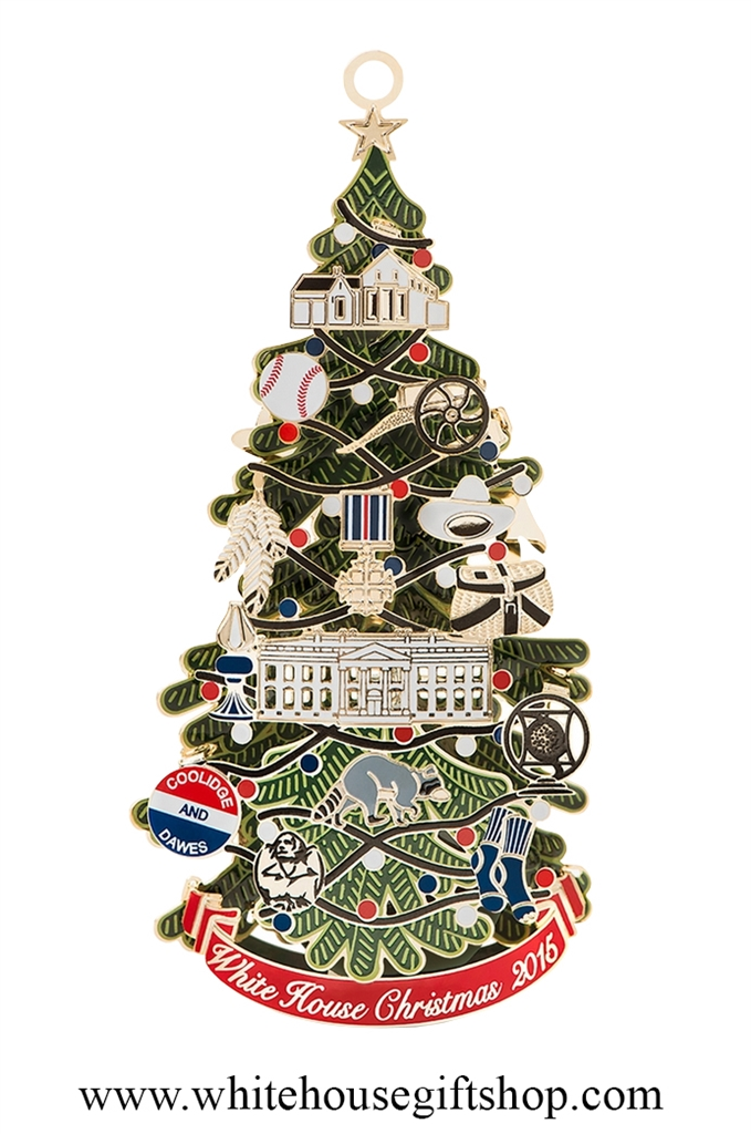 2015 Historical Association Ornament · Larger Photo Email A Friend - The 2015 White House Historical Association Christmas & Holiday