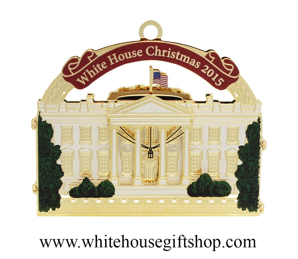 2015 White House & Historical Ornament Honoring President Franklin D ...
