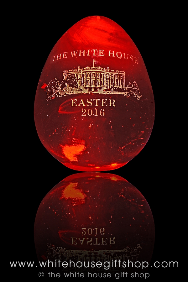 Sold Out, 2016 Strawberry Spring with Strawberry Hues, Limited, 24KT Gold  Engraved, Official Collection for 25 Years! Handmade in the USA, One Egg at