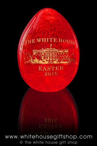 White House Glass Easter Eggs from the Official White House Gift Shop