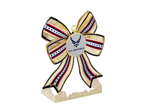 U.S. Air Force Ribbon and Seal  Christmas and Holidays Ornament