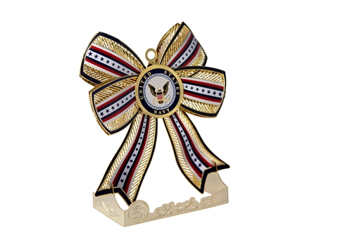 U.S. Navy Christmas and Holidays Ornament, made in America