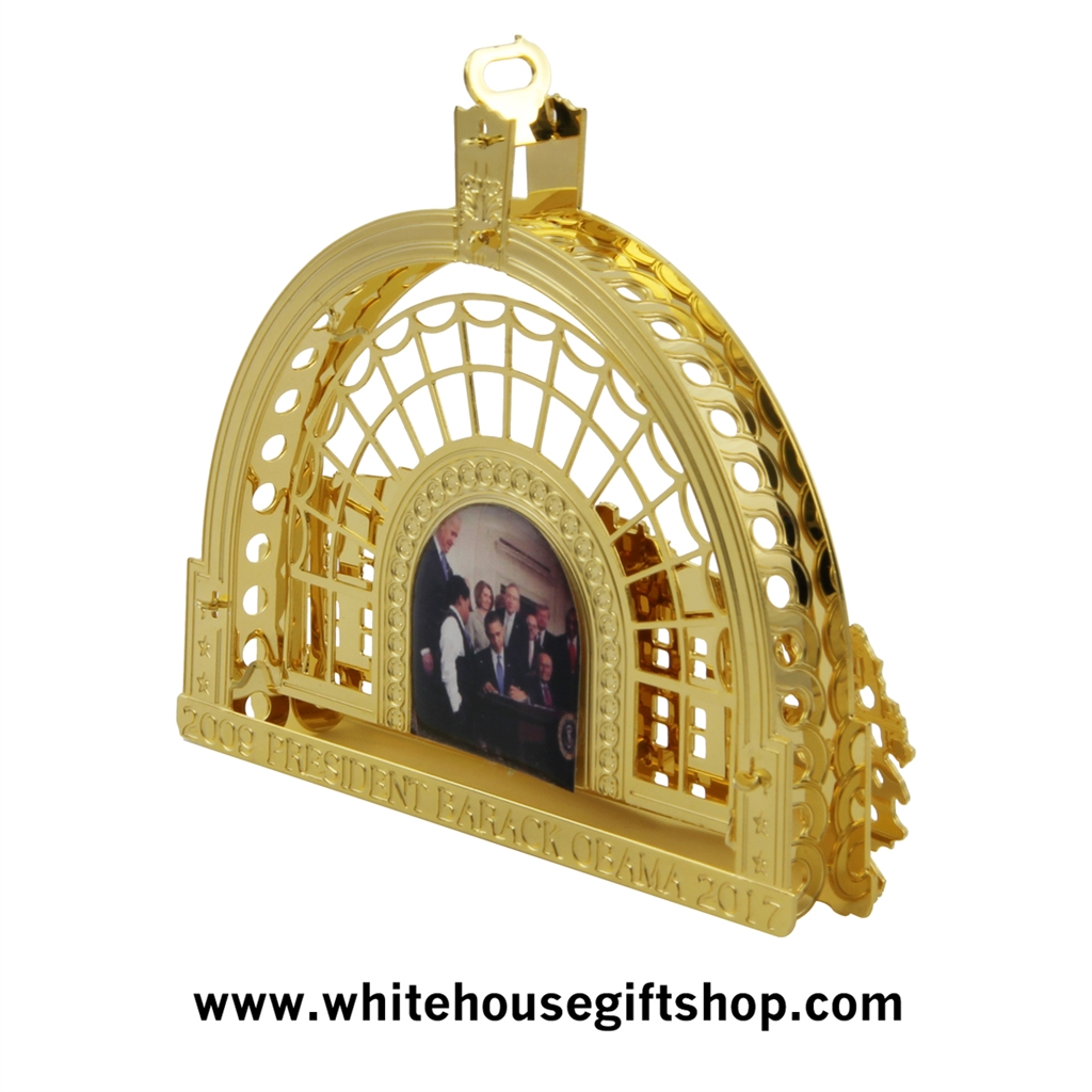 White house christmas ornaments by year - 2016 White House Gift Shop Special Presidential Ornament Honors President Barack Obama