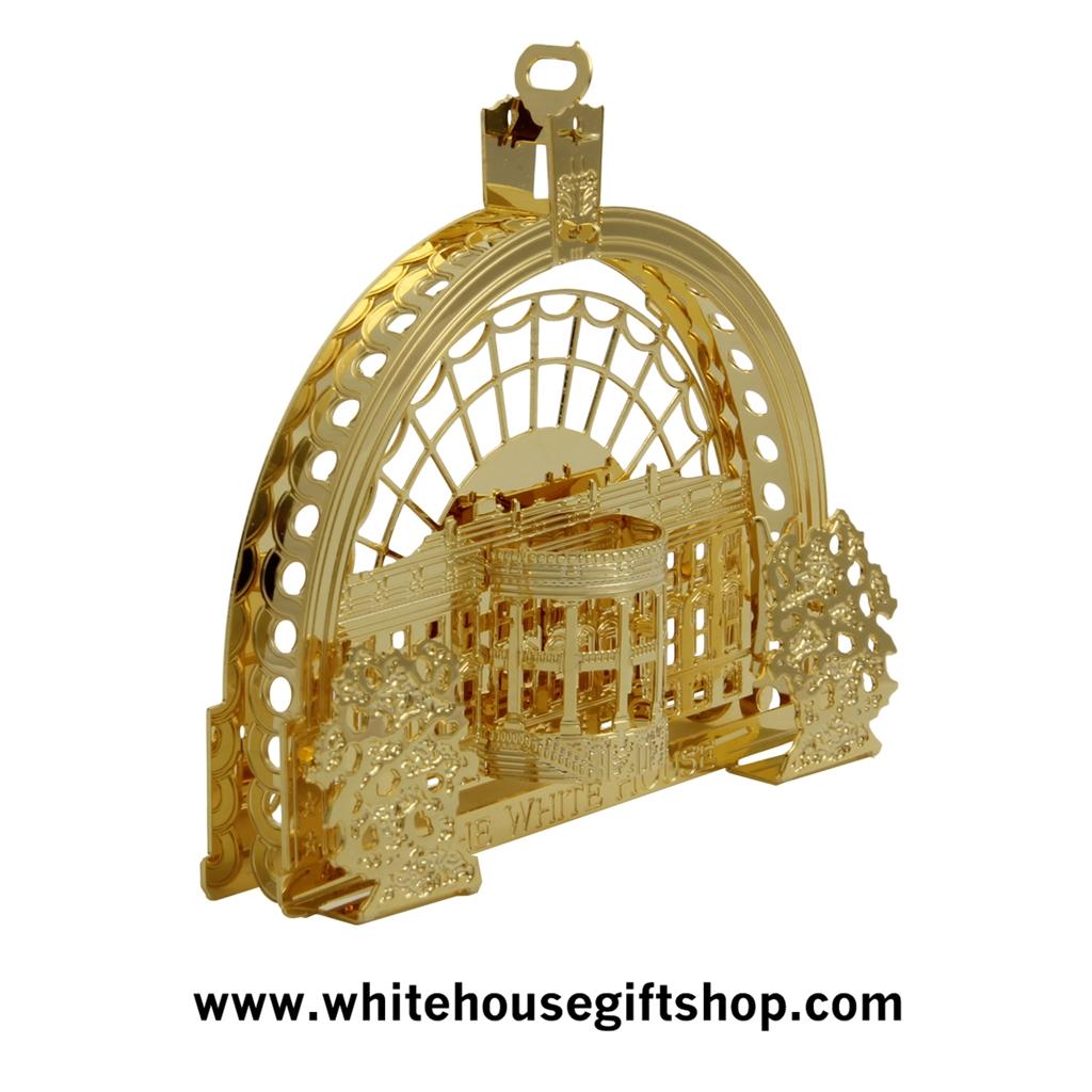 The 2016 Barack Obama White House Ornament & Model of the East Room ...