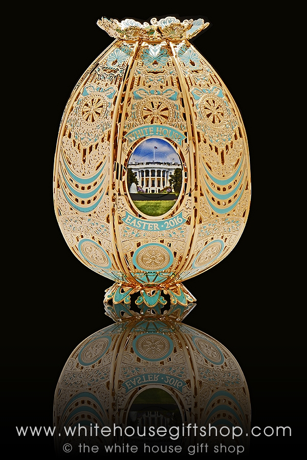 The 2016 white house easter egg is handcrafted in the usa with larger photo email a friend negle Choice Image