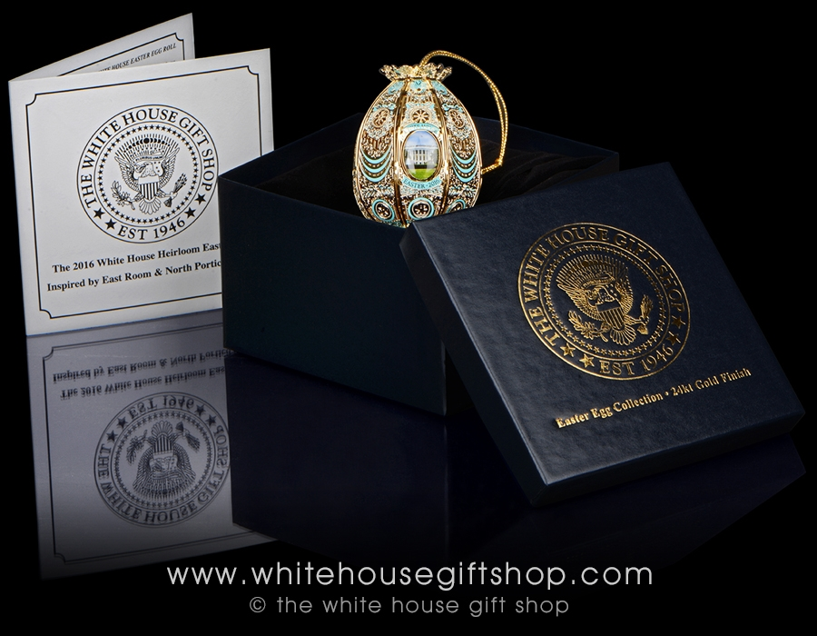 The 2016 white house easter egg is handcrafted in the usa with larger photo email a friend negle Image collections