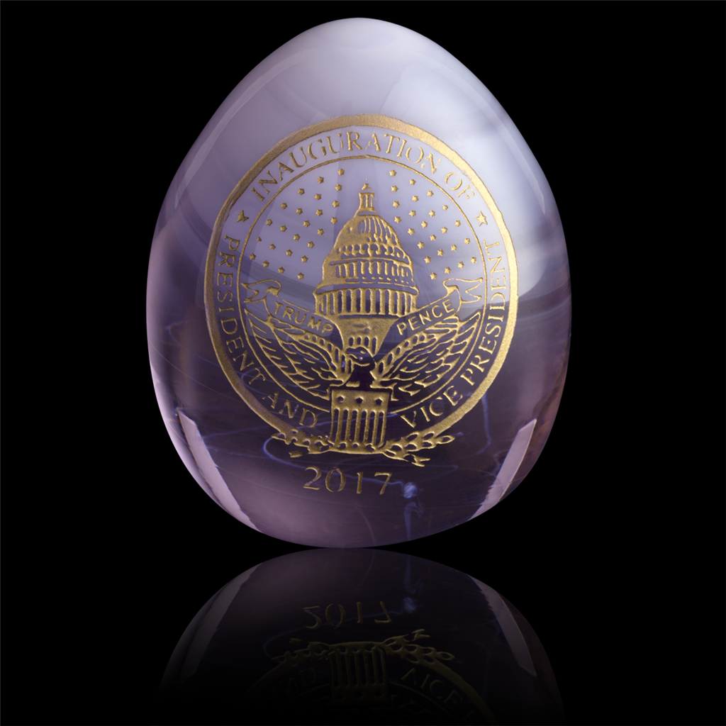 White house christmas ornaments historical society - 2017 White House Glass Easter Egg