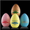2017 White House Wooden Easter Eggs, 3 colors, made in America