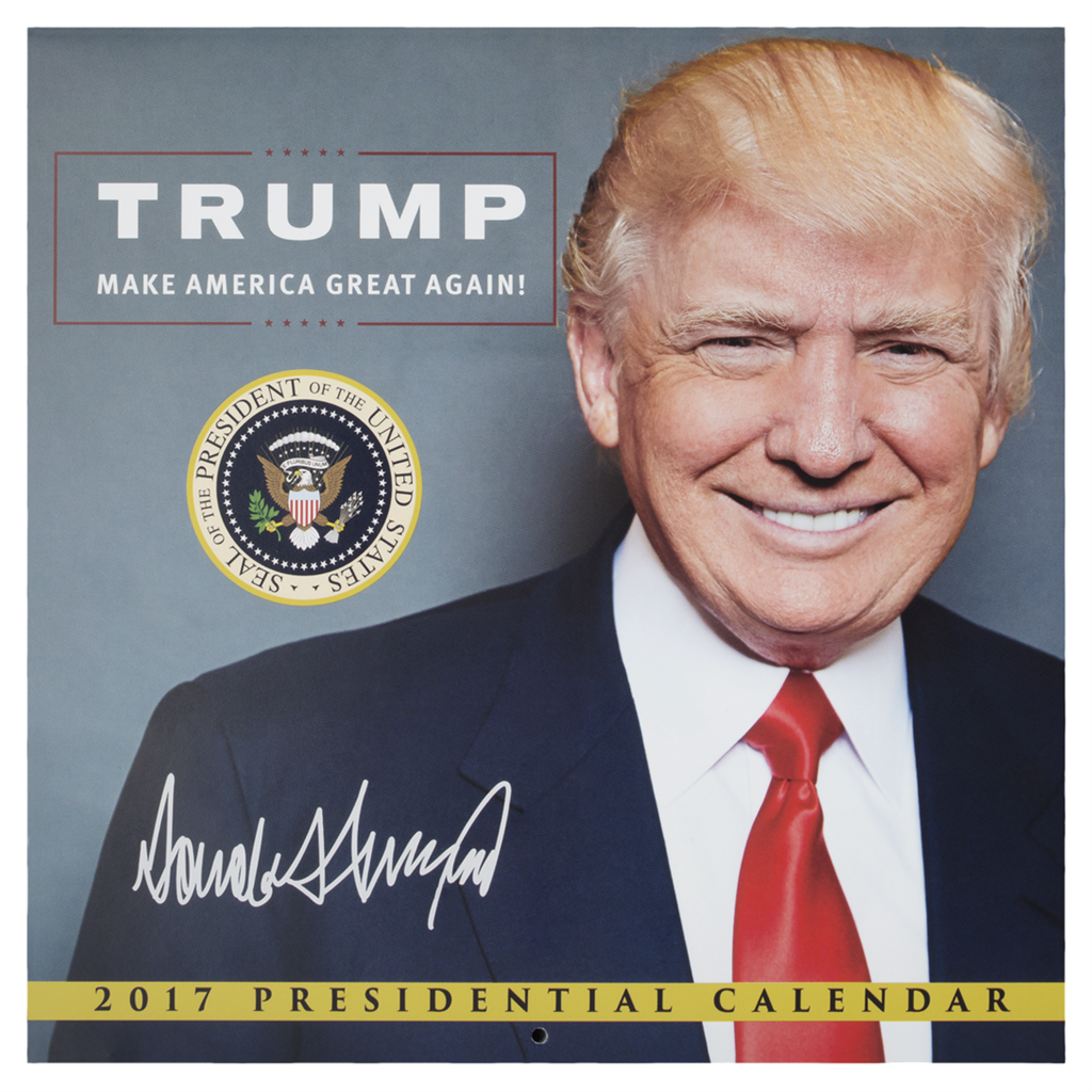 The 2017 President Donald Trump Calendar with White House Gift ...