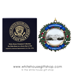 2017 Official White House Ornament with the White House in Winter, 1930