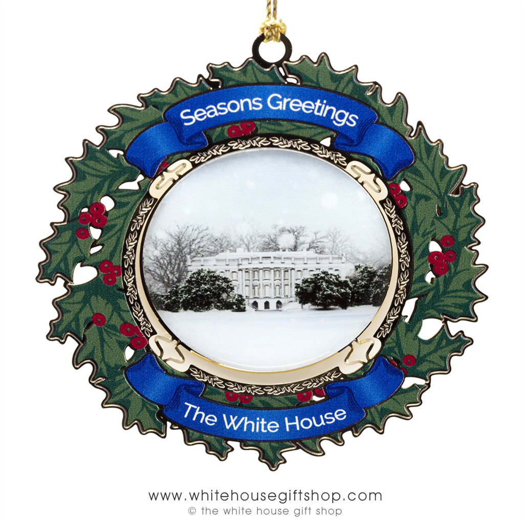 2017 White House Ornament The White House in Winter