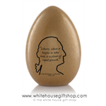 2018 White House Wooden Annual Presidential Easter Egg, Official, Authentic, White House Gift Shop wood eggs