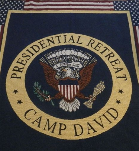 camp david presidential retreat throw blanket holiday sale limited time. Black Bedroom Furniture Sets. Home Design Ideas