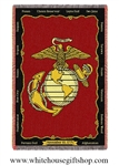 USMC Marine Corps Blanket & Throw