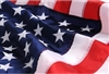 Made in the USA Flags, 2 x 3 foot, Outdoor Quality Nylon flag, Densely Embroidered Stars, Made in America, Great item for rainy areas, quick dry fabric, from original official White House Gift Shop since 1946.