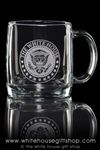 White House Seal Presidential Classic Glass Coffee Mug