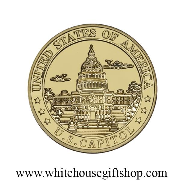 coins united states capitol coin 1 5 diameter premium copper