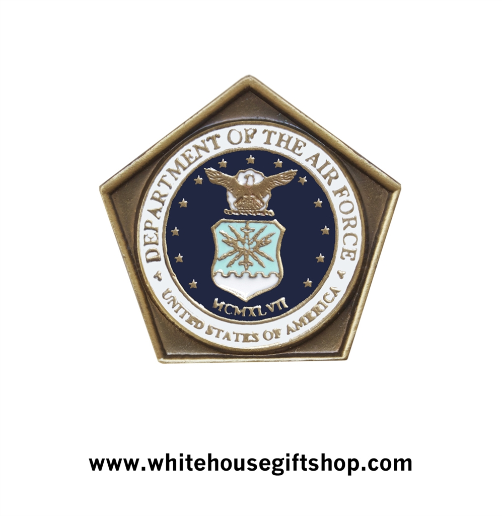 Air Force Challenge Coin Pentagon