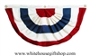 American Flag Pleated Full Fan
