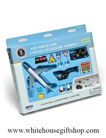 Daron Air Force One 12 Piece Play Set Air Force One Plane Marine