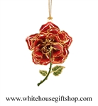 White House Rose Garden Commemorative Flower Ornament