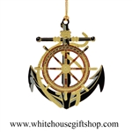 Anchor & Wheel White House Gift Shop Ornament