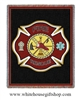 Firefighter Shield Blanket & Throw, made in the USA, machine wash and dry,