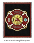 Firefighter Blanket & Throw