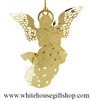 Celestial Angel White House Gift Shop Christmas Ornament