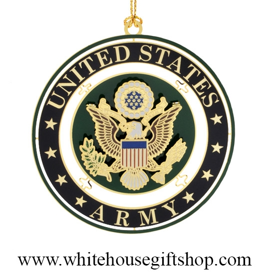 United Stated Army Seal Holiday Ornament - Ornaments, United States Army Seal, USA, Holiday & Christmas