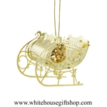 Christmas Sleigh White House Gift Shop Ornament
