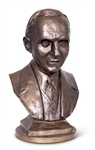 "Henry Ford Bronze Patina 12"" Statue"