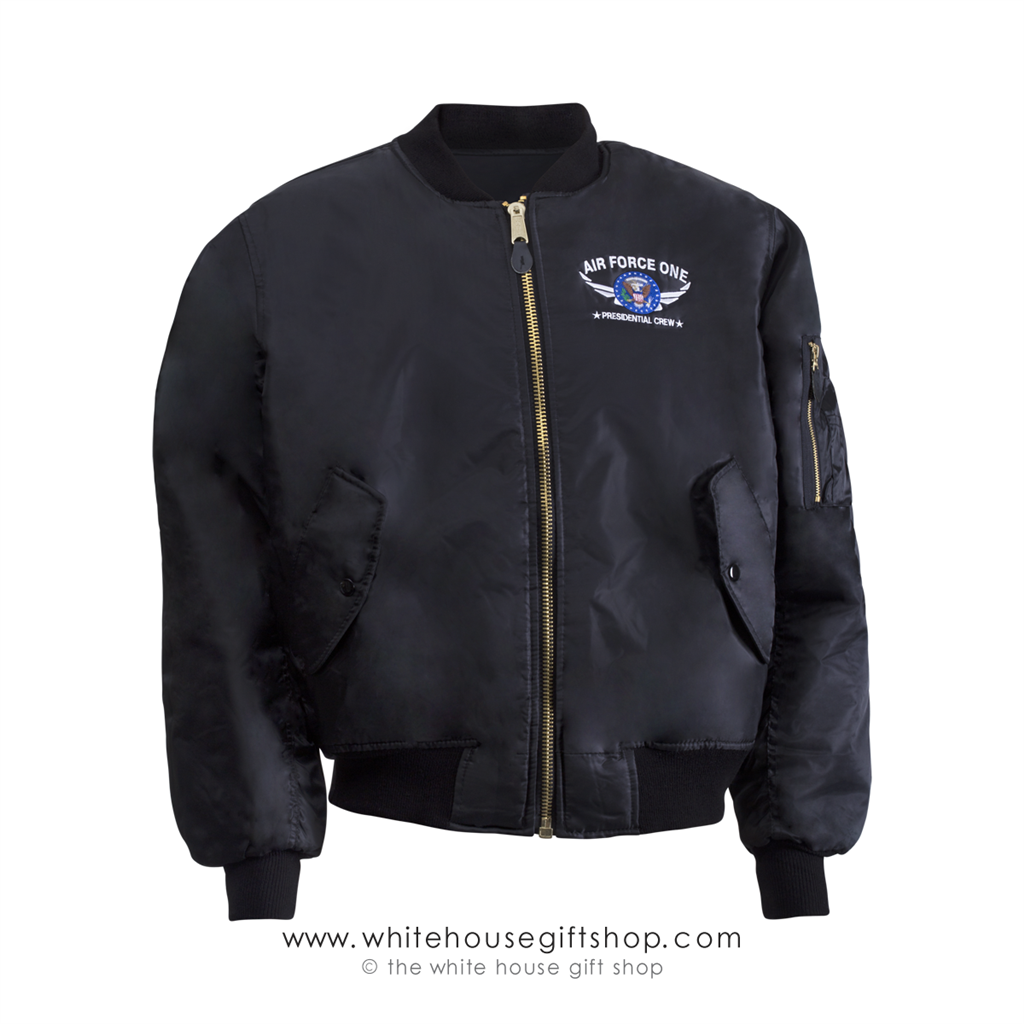 President and Presidential Crew MA-1 Bomber Style Flight Jacket ...
