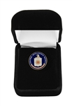 CIA Lapel Pin, Full Color Seal, Langley